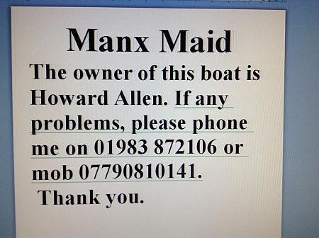 Boat notice 1