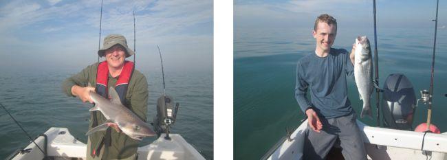 boat fishing Hampshire