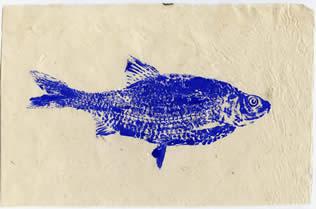Gyotaku Roach