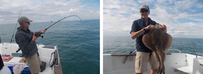 ray fishing