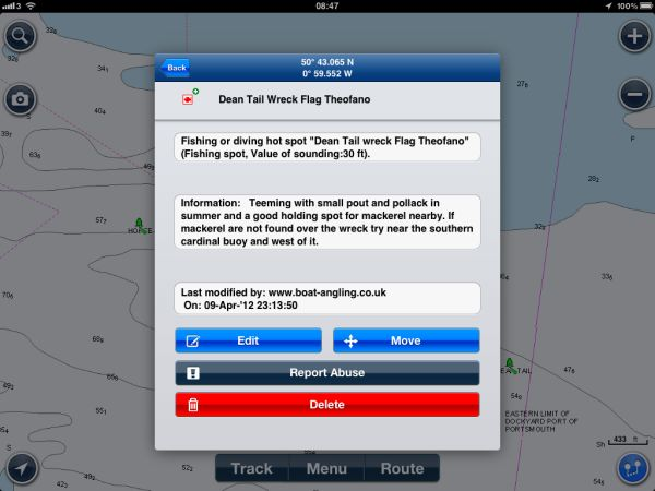 Navionics for ipad