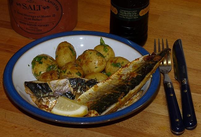 spiced mackerel