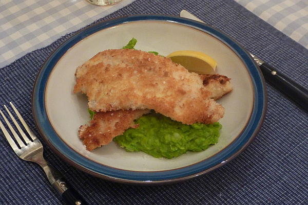 breaded whiting