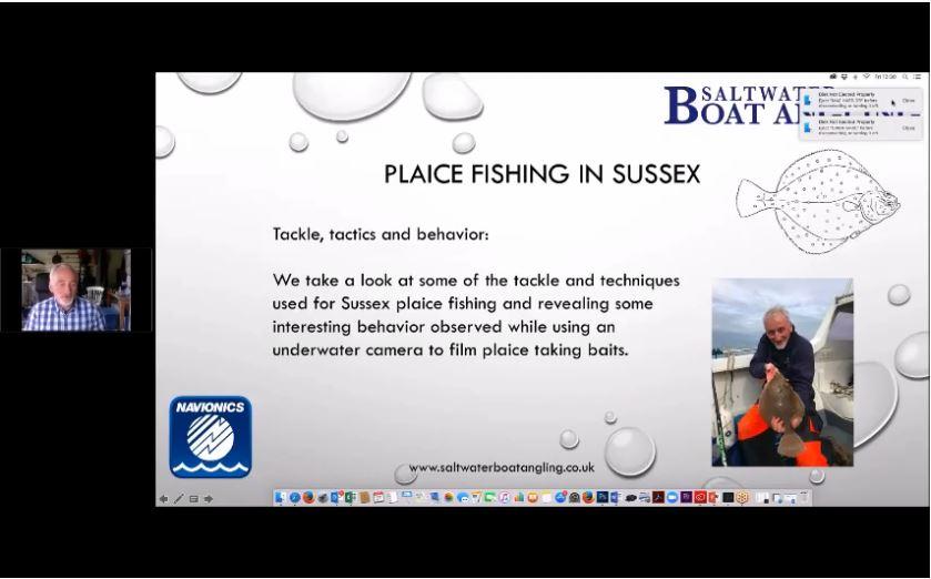 Webinar Recording, Plaice Fishing - Boat Angling