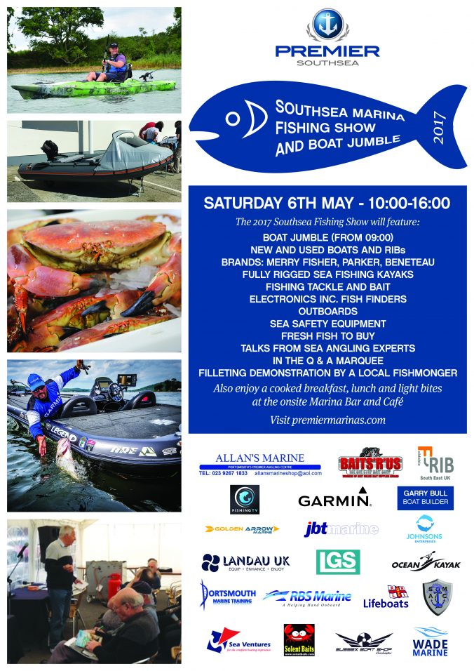 Southsea Fishing Show Poster