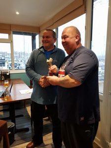 Ray Plomer wins Mandela Cup