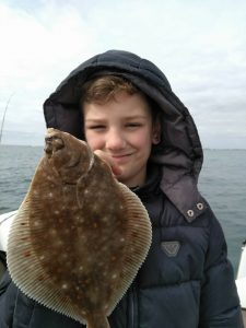 Archie Crawford first plaice