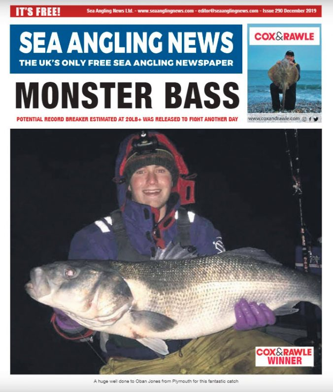 Sea Angling News Langstone Report November 2019