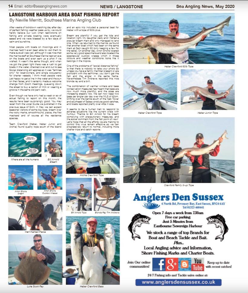Sea Angling News