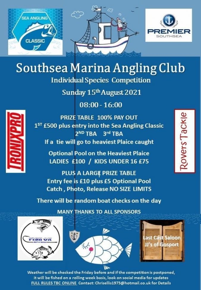 Species Competition Southsea Marina