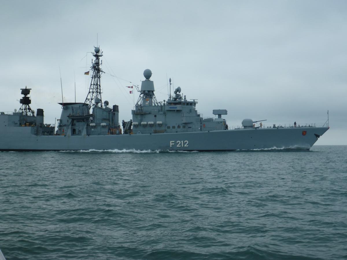 Frigate FGS Karlsruhe (German Navy)