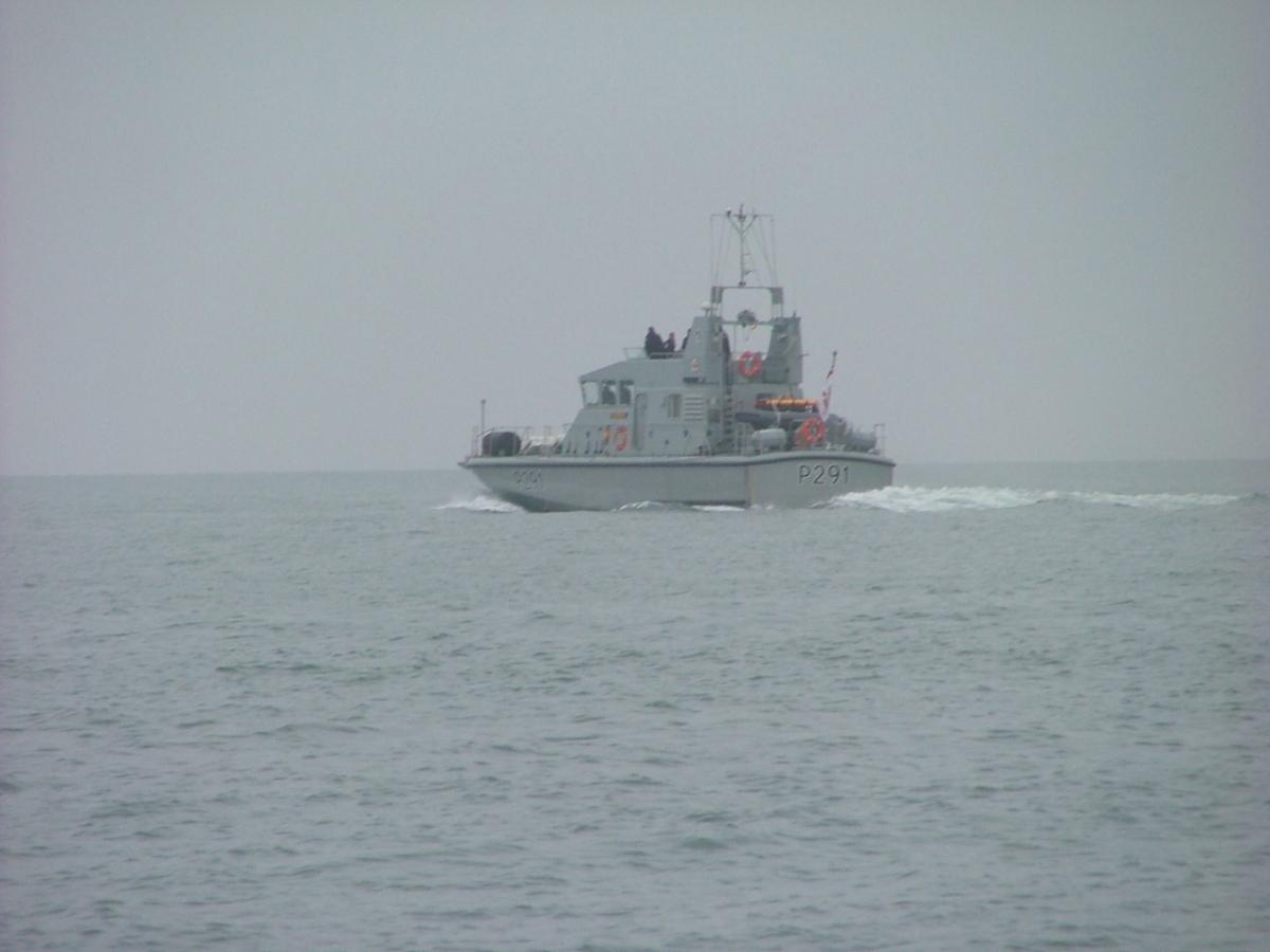HMS Puncher Fast Patrol Boat