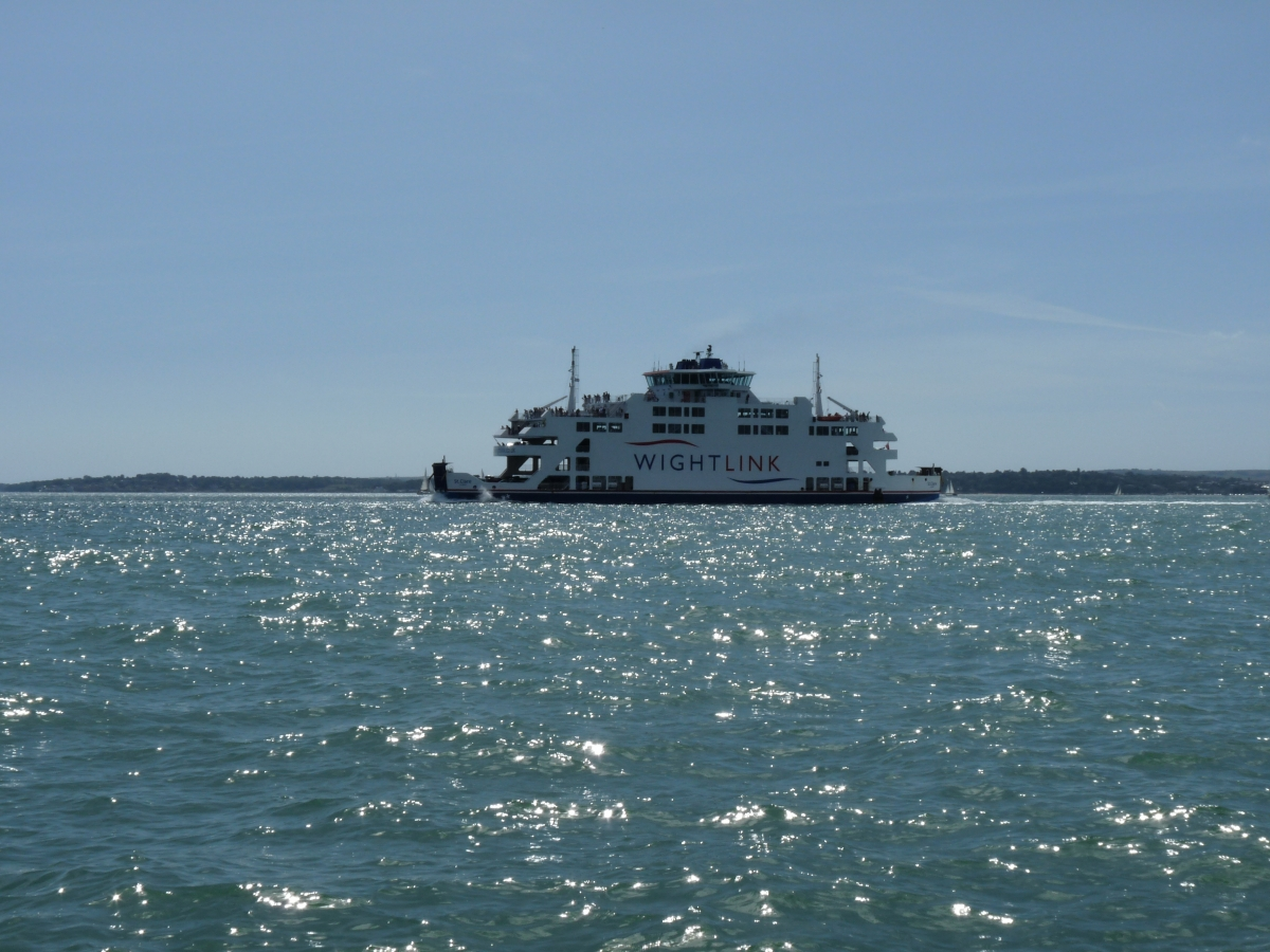 "Isle of Wight Ferry ""St Clare"""