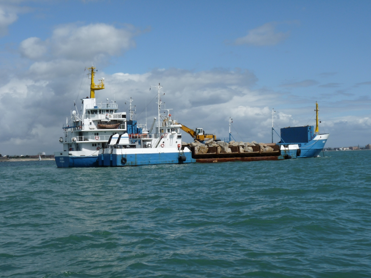 """Mari"" delivering sea defences"