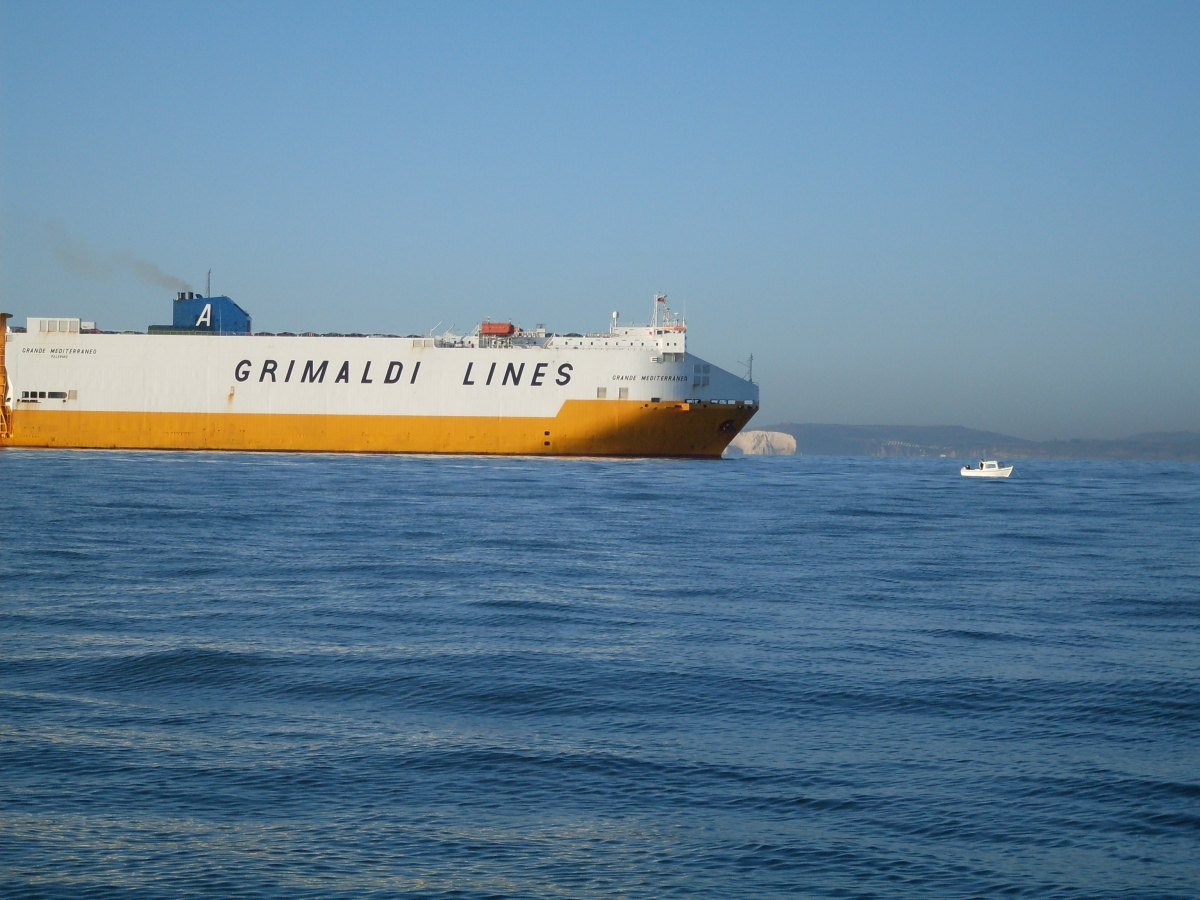 "Car carrier ""Grande Mediteranneo"""