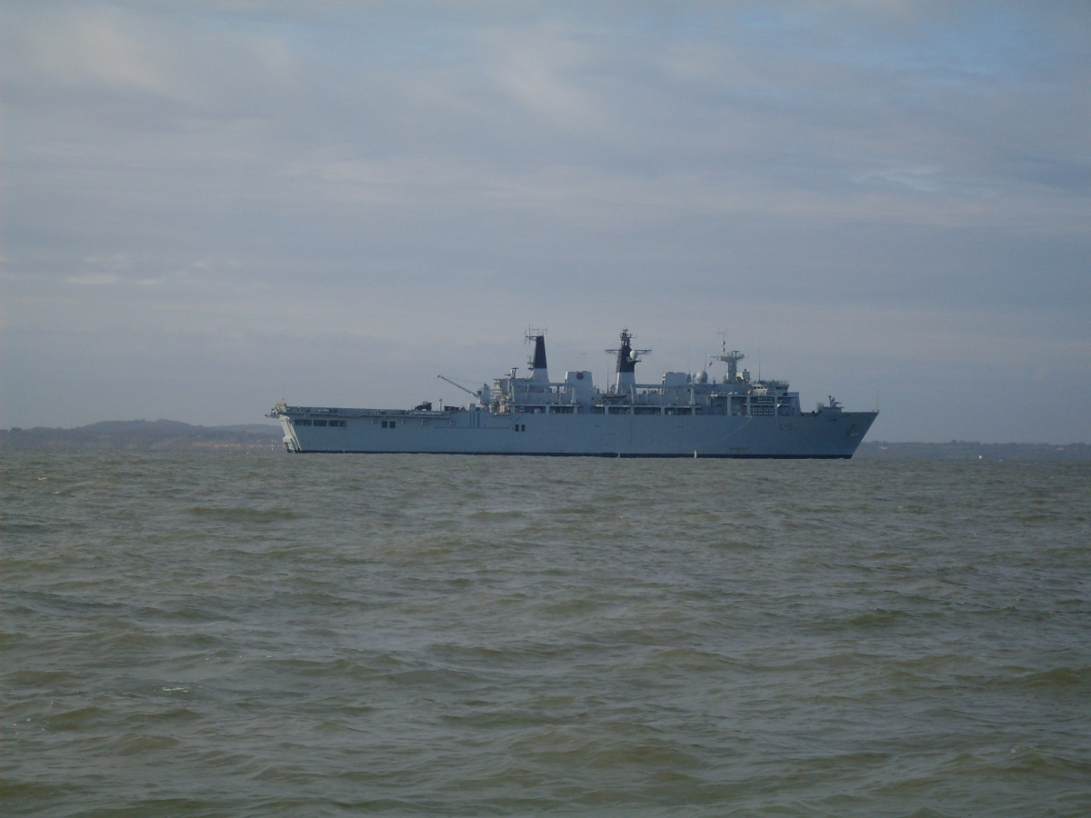 HMS Bulwark Assault Ship